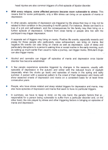 Causes and Triggers of Bipolar page 2
