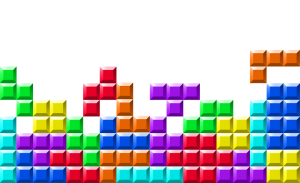 My games of Tetris never go this well.  :P (image from http://tetrisaxis.nintendo.com/)