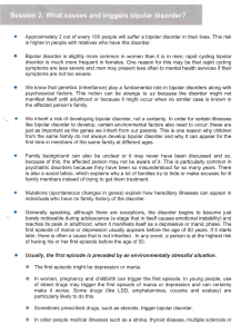 bipolar causes and triggers page 1